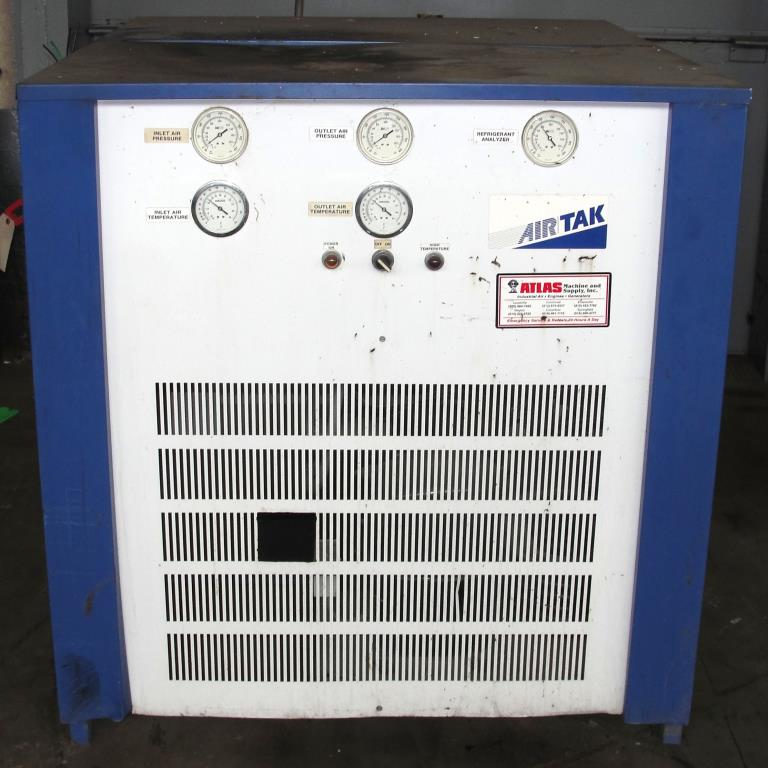 Compressor 5 hp Air Tak air dryer model D-1000-W-HP, 1000 cfm2