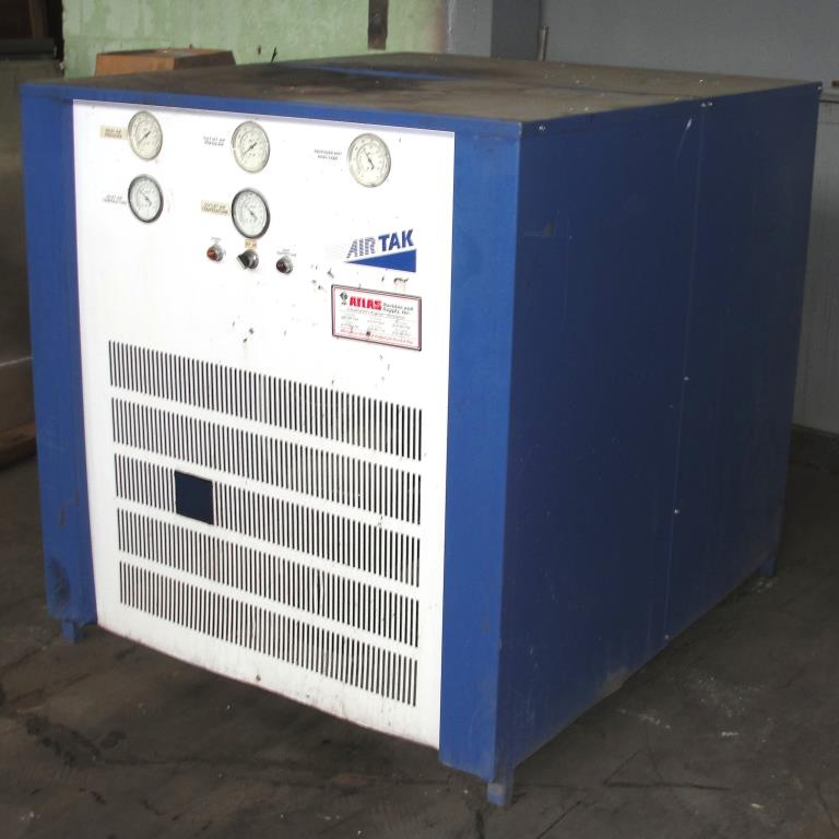 Compressor 5 hp Air Tak air dryer model D-1000-W-HP, 1000 cfm3