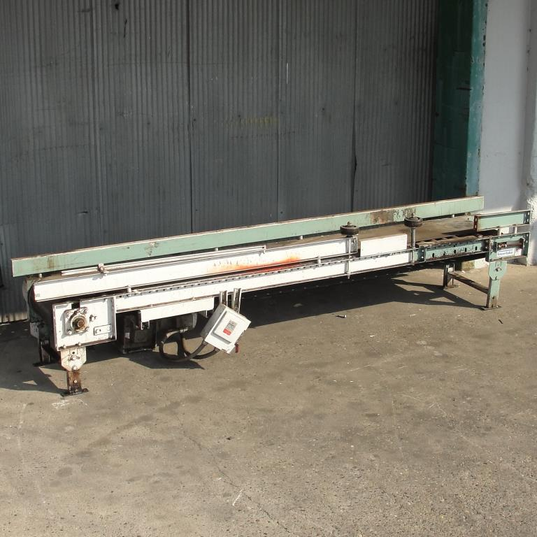 Conveyor Interlake belt conveyor CS, 13.5 w x 105 l4