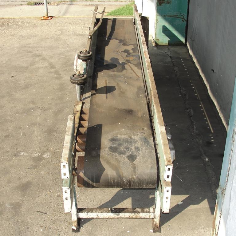 Conveyor Interlake belt conveyor CS, 13.5 w x 105 l6