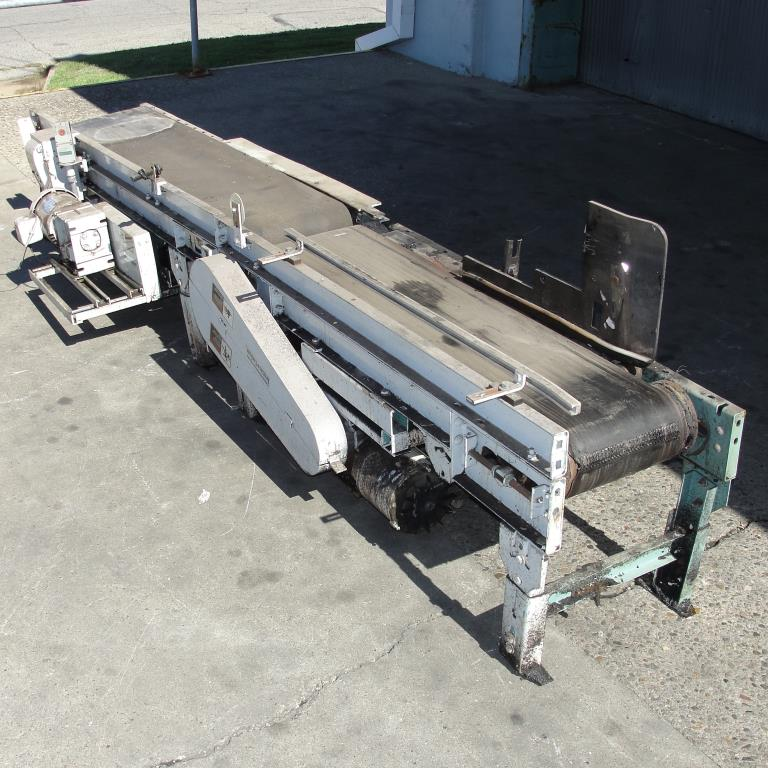 Conveyor Interlake belt conveyor model gapping conveyor, CS, 13.5 w x 64 l and 10.5 w x 48 l