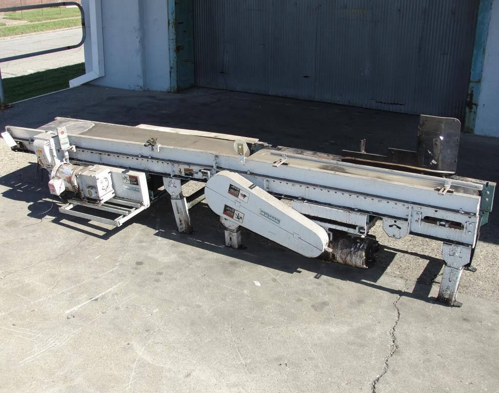 Conveyor Interlake belt conveyor model gapping conveyor, CS, 13.5 w x 64 l and 10.5 w x 48 l2