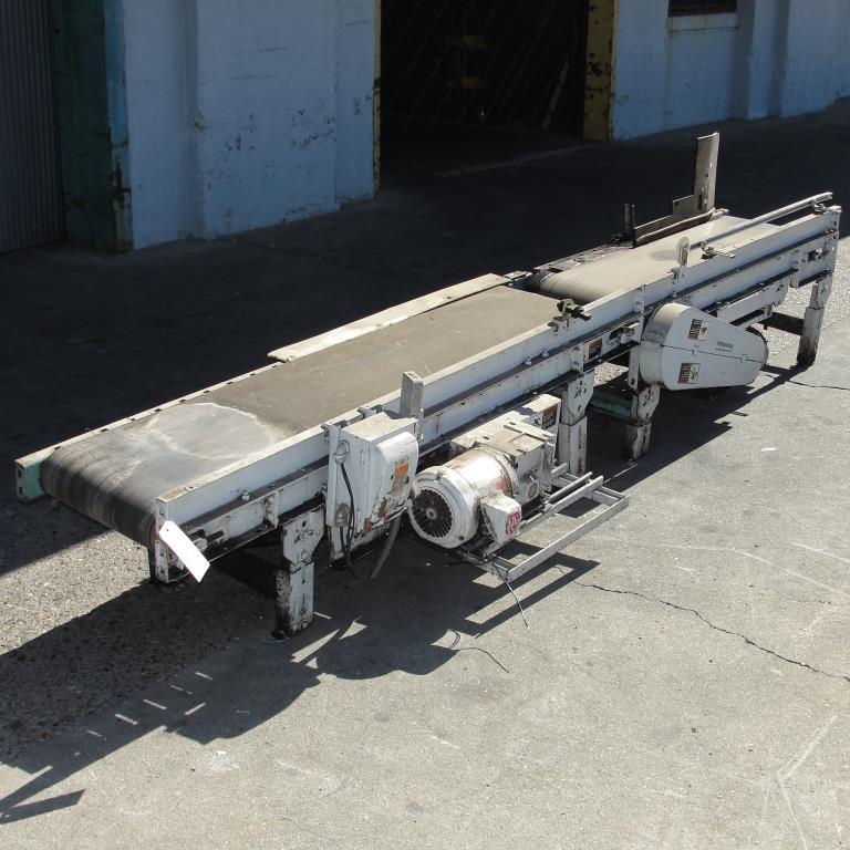 Conveyor Interlake belt conveyor model gapping conveyor, CS, 13.5 w x 64 l and 10.5 w x 48 l3