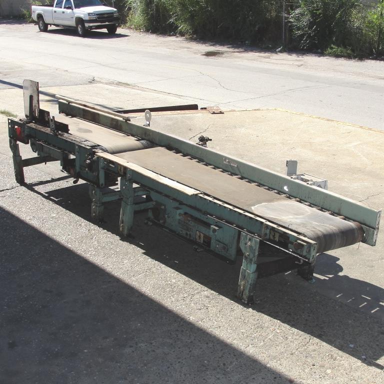 Conveyor Interlake belt conveyor model gapping conveyor, CS, 13.5 w x 64 l and 10.5 w x 48 l4