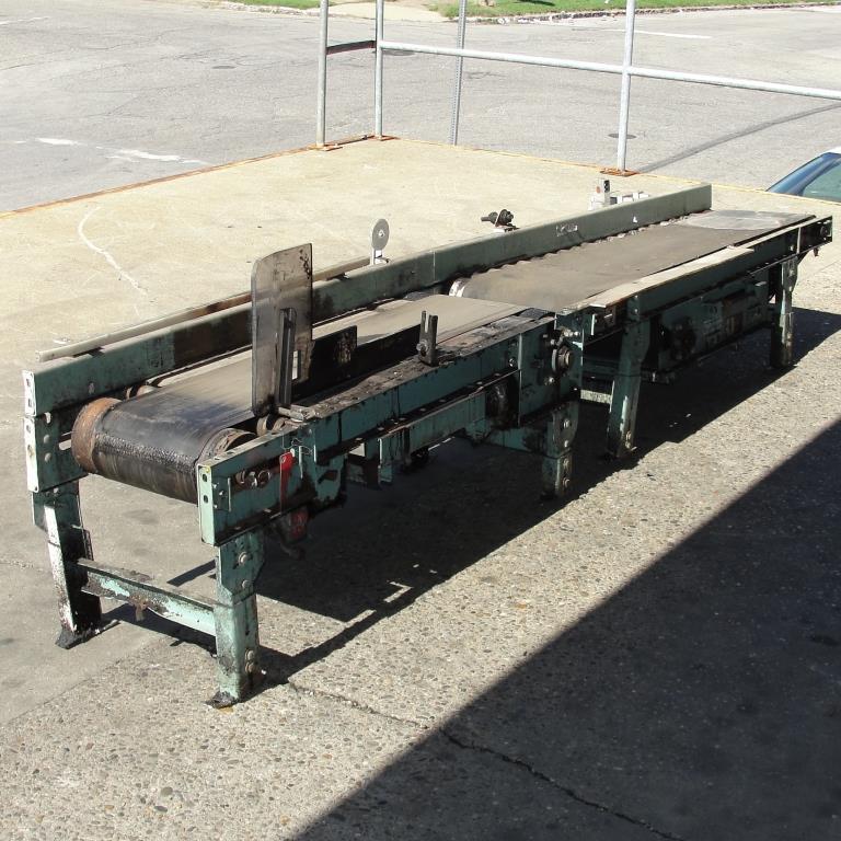 Conveyor Interlake belt conveyor model gapping conveyor, CS, 13.5 w x 64 l and 10.5 w x 48 l5