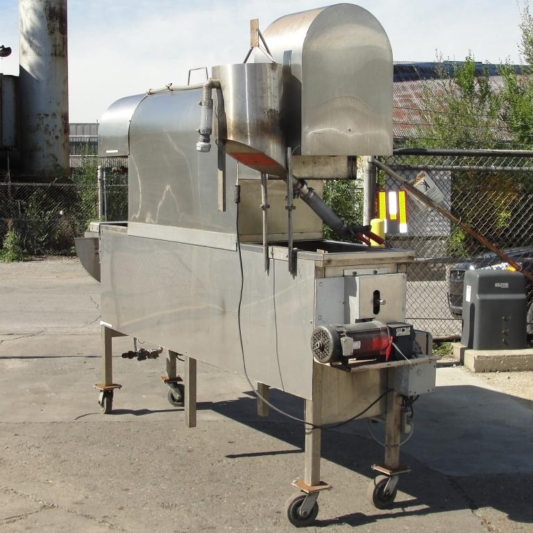Oven industrial gas fired oven model popcorn coater4