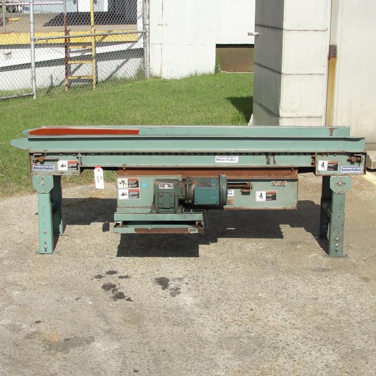 Conveyor Interlake belt conveyor CS, 10 w x 76 l2