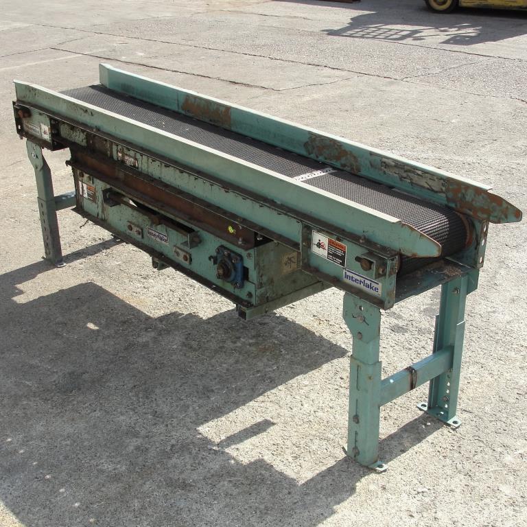 Conveyor Interlake belt conveyor CS, 10 w x 76 l3