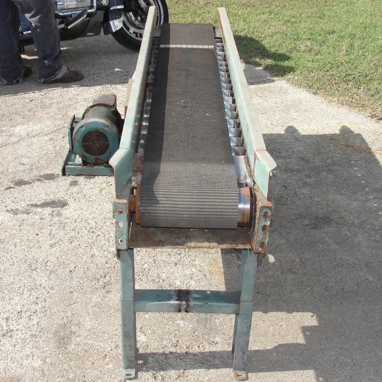 Conveyor Interlake belt conveyor CS, 10 w x 76 l5