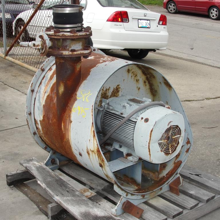 Blower 450 cfm multistage centrifugal blower, Spencer, 20 hp3