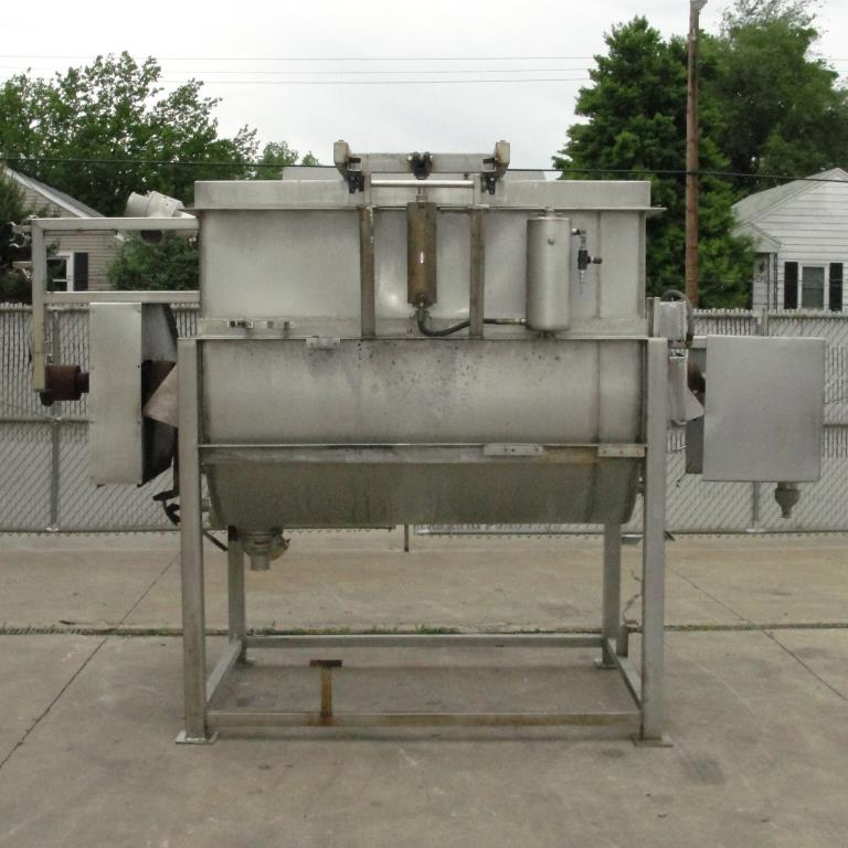 Kettle 650 gallon L & A Engineering processor kettle, agitator rotating tubular spiral heat exchanger, Stainless Steel7