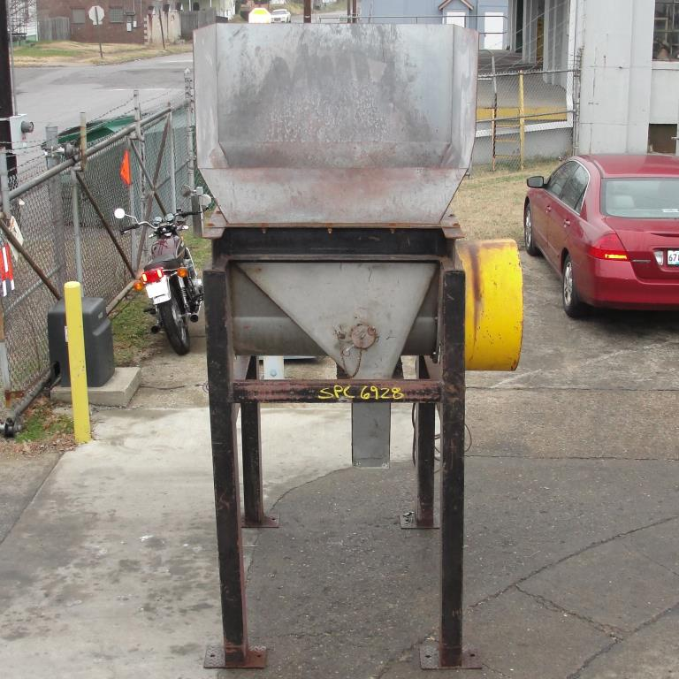 Feeder 20 dia screw feeder 12 cu ft hopper, CS8