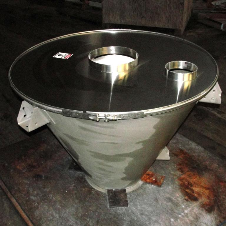 Bin 7 cu.ft., bulk storage bin, Stainless Steel5