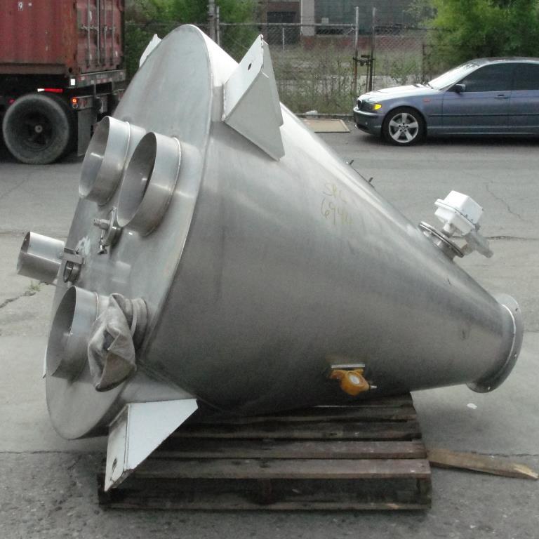 Bin 28 cu.ft., bulk storage bin, Stainless Steel1