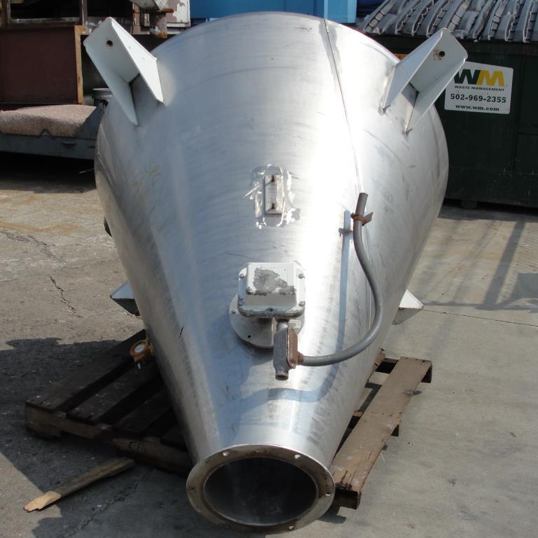 Bin 28 cu.ft., bulk storage bin, Stainless Steel6