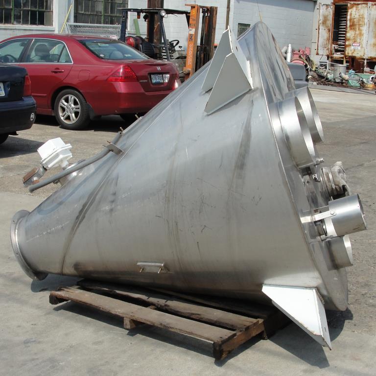Bin 28 cu.ft., bulk storage bin, Stainless Steel7