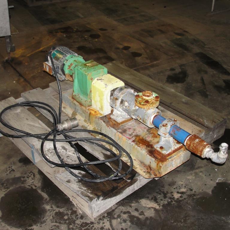 Pump Tarby progressive cavity pump model 2TL3 CDQ, 1 hp, NA1