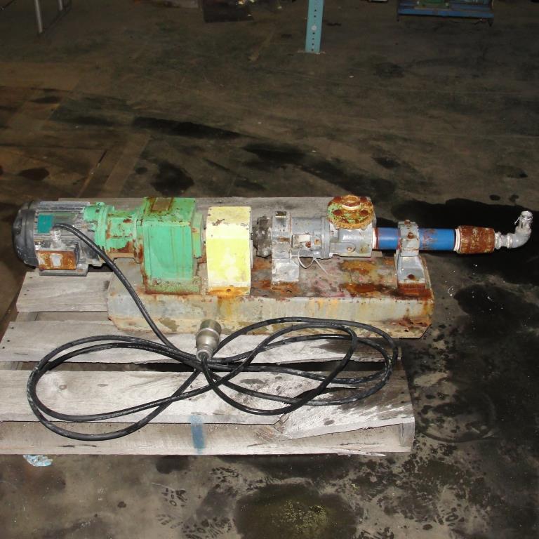 Pump Tarby progressive cavity pump model 2TL3 CDQ, 1 hp, NA2