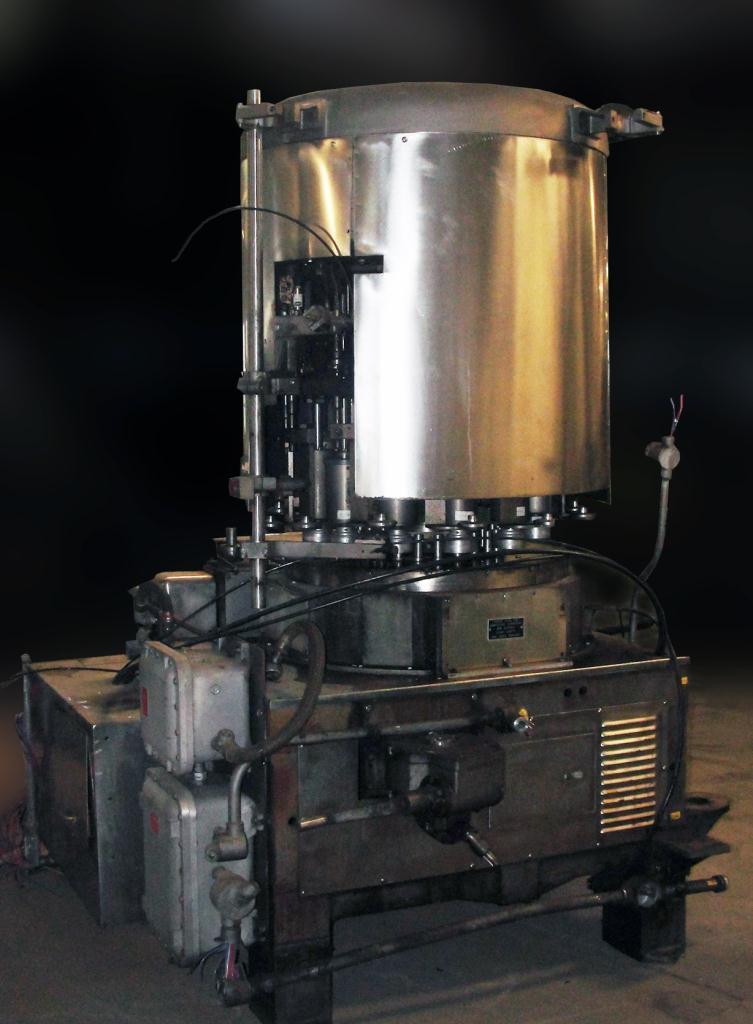 Capping Machine Pneumatic Scale screw capper model 12 Head, 33mm2