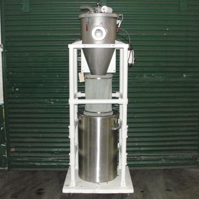 Conveyor Vac-U-Max vacuum conveyor model 3 cuft Stainless Steel Contact Parts 26 gallons capacity3