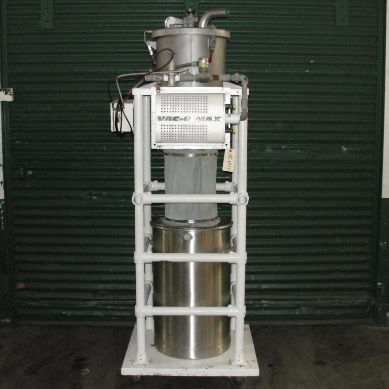 Conveyor Vac-U-Max vacuum conveyor model 3 cuft Stainless Steel Contact Parts 26 gallons capacity4