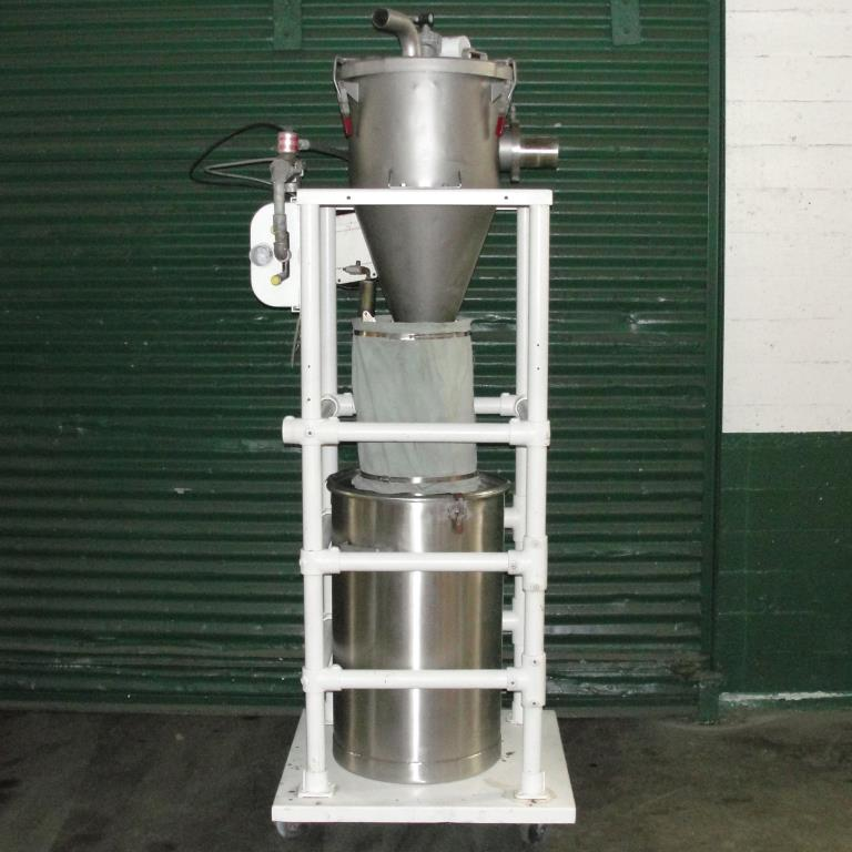 Conveyor Vac-U-Max vacuum conveyor model 3 cuft Stainless Steel Contact Parts 26 gallons capacity5