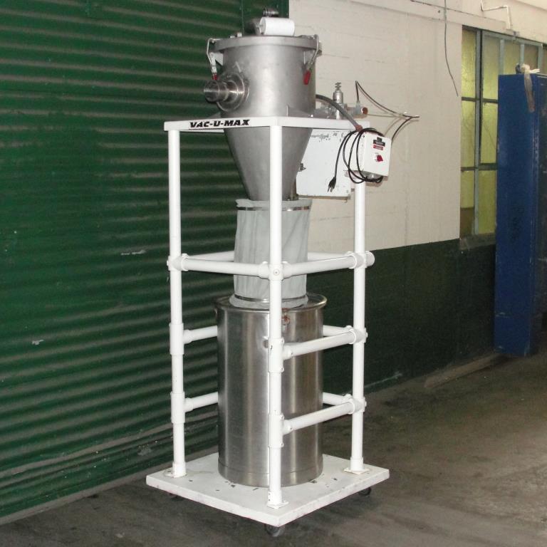 Conveyor Vac-U-Max vacuum conveyor model 3 cuft Stainless Steel Contact Parts 26 gallons capacity6