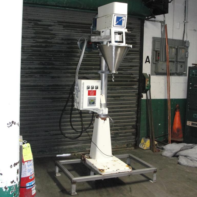Filler single head Blair Fuehrer Inc auger filler model D, 1.51