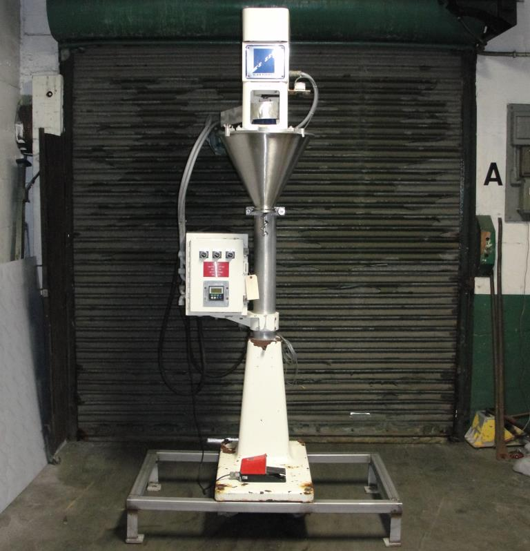 Filler single head Blair Fuehrer Inc auger filler model D, 1.52