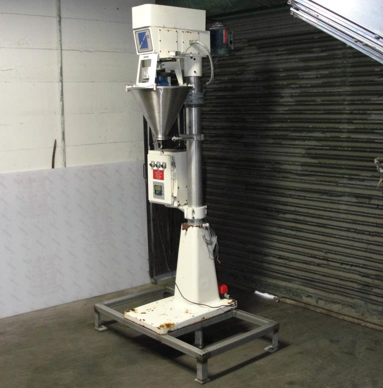 Filler single head Blair Fuehrer Inc auger filler model D, 1.56