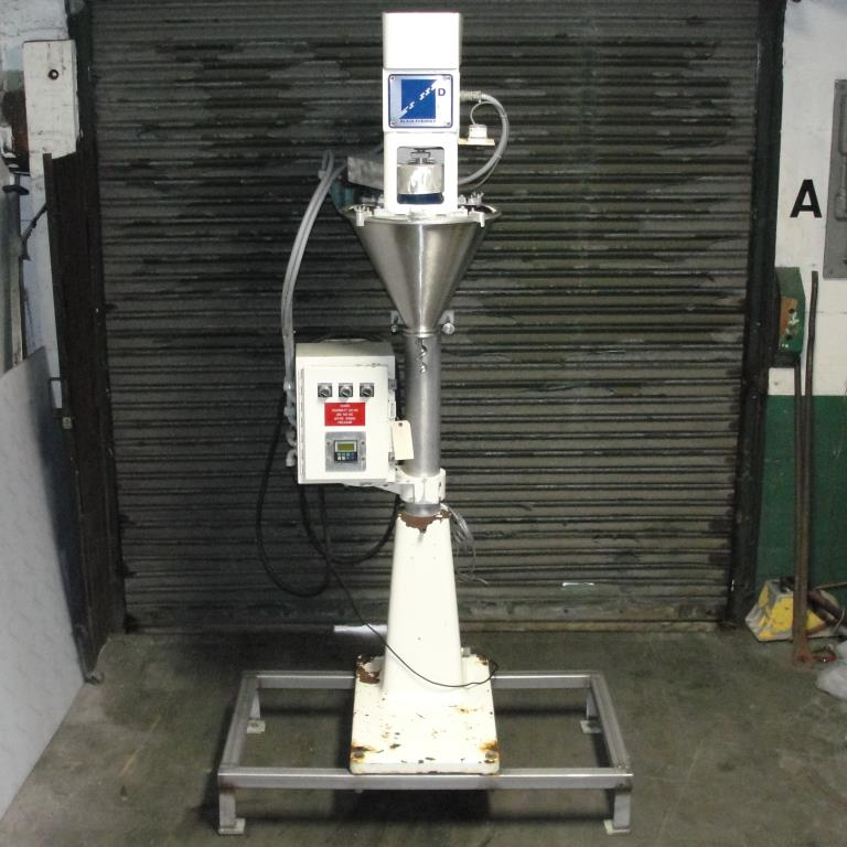 Filler single head Blair Fuehrer Inc auger filler model D, 1.511