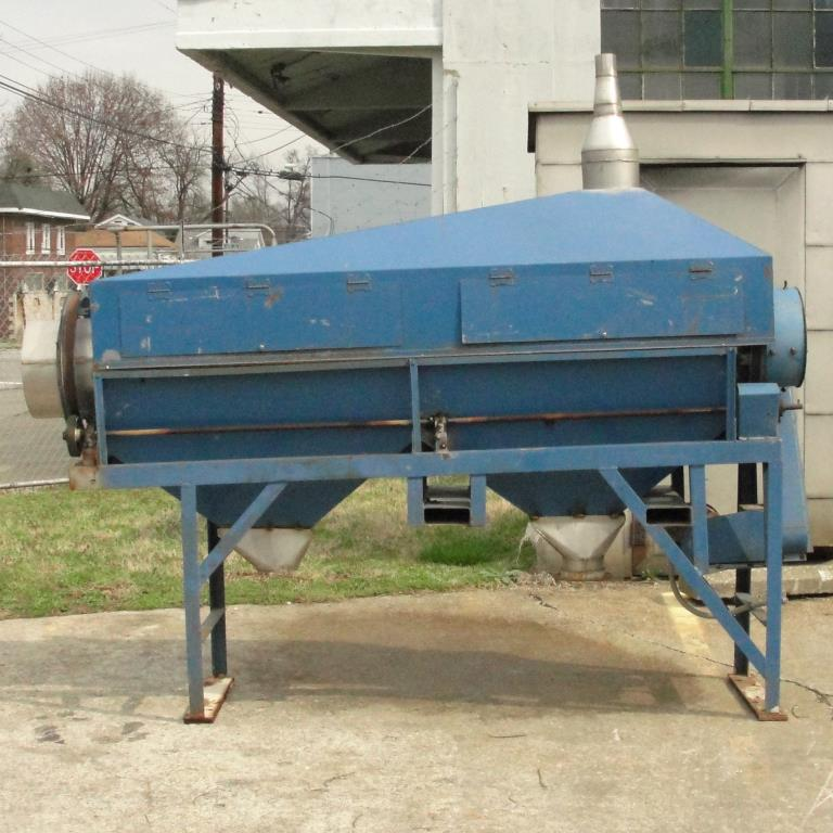 Screener and Sifter 14 dia x 108 l trommel screener Stainless Steel Contact Parts2