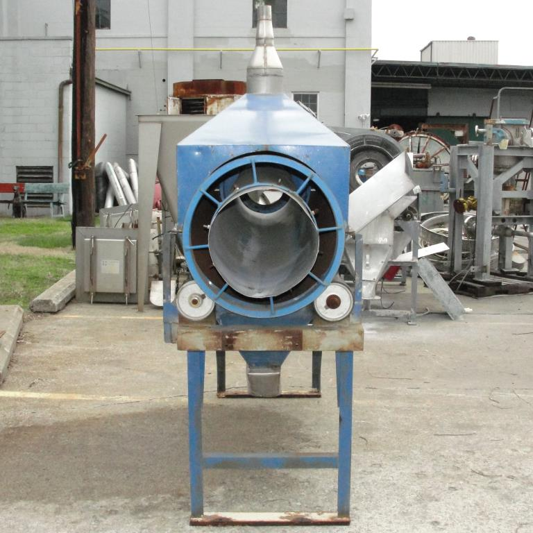 Screener and Sifter 14 dia x 108 l trommel screener Stainless Steel Contact Parts5