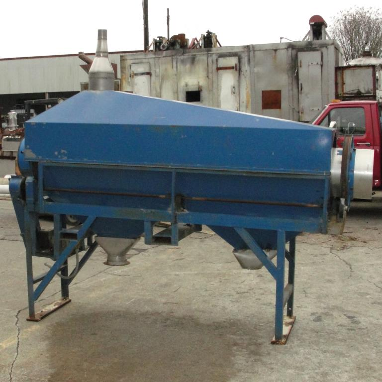 Screener and Sifter 14 dia x 108 l trommel screener Stainless Steel Contact Parts6