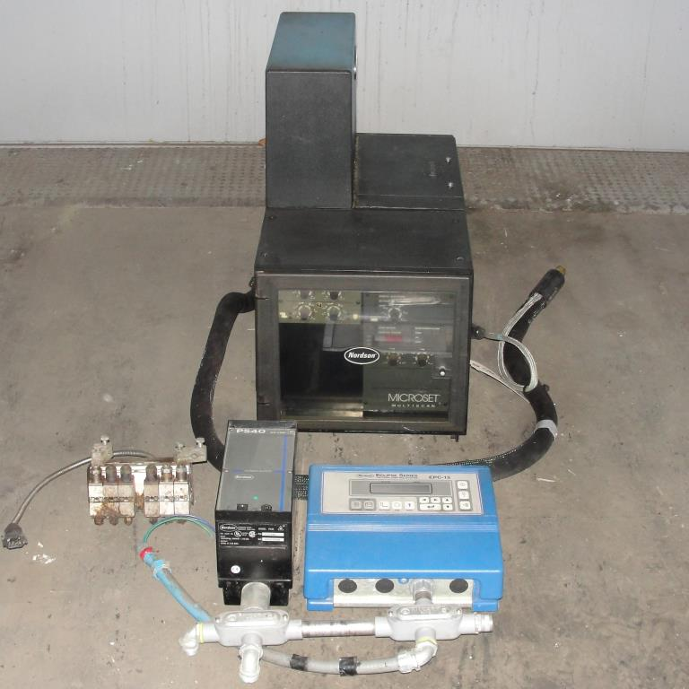 Hot Melt Dispenser Nordson hot melt glue dispenser model 3500 1AA32/D2