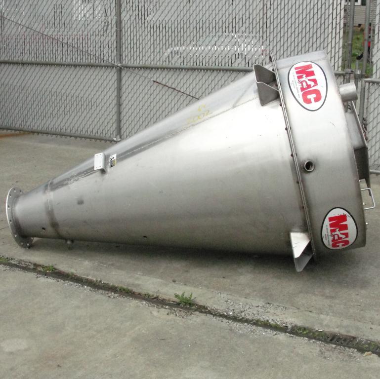 Bin 35 cu.ft., bulk storage bin, Stainless Steel3