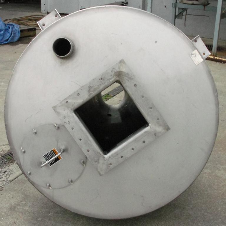Bin 35 cu.ft., bulk storage bin, Stainless Steel4