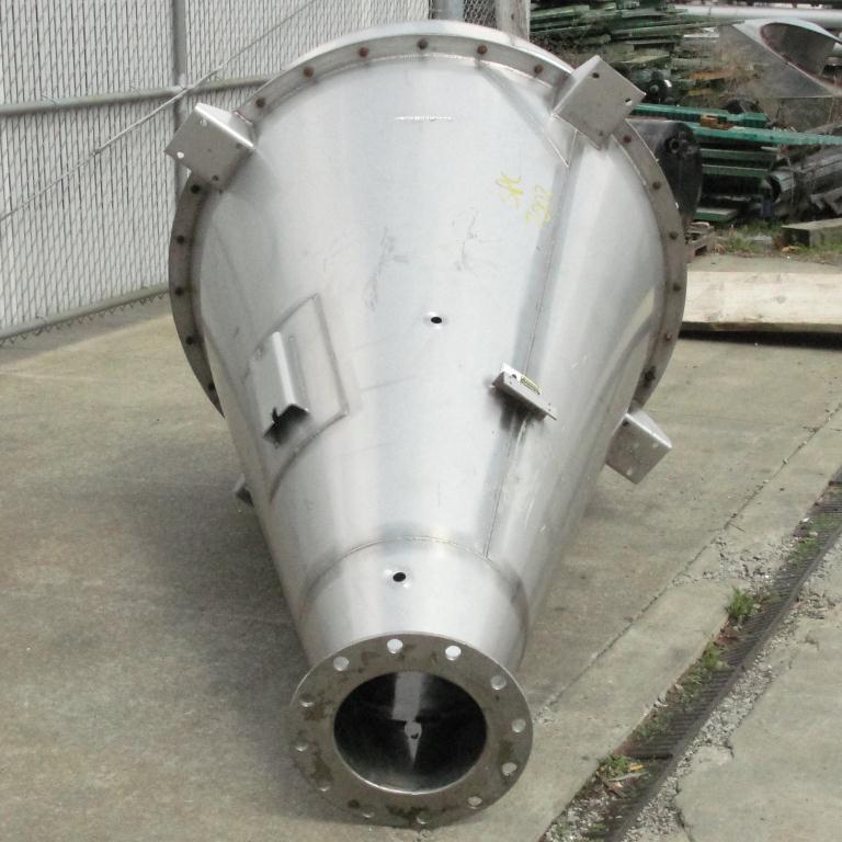 Bin 35 cu.ft., bulk storage bin, Stainless Steel5