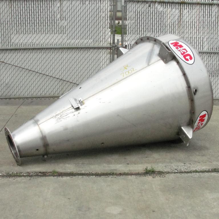 Bin 35 cu.ft., bulk storage bin, Stainless Steel8
