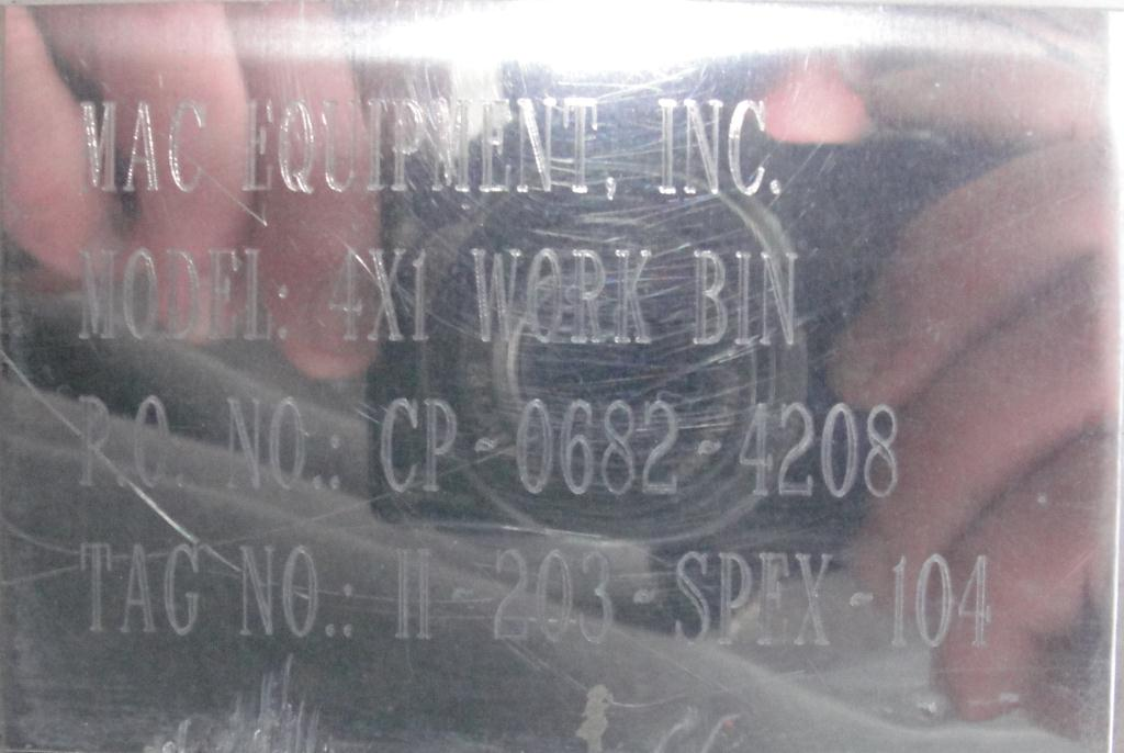 Bin 35 cu.ft., bulk storage bin, Stainless Steel9