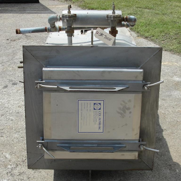 Dust Collector 41 sq.ft. C.P.E. Filters Inc reverse pulse jet dust collector9