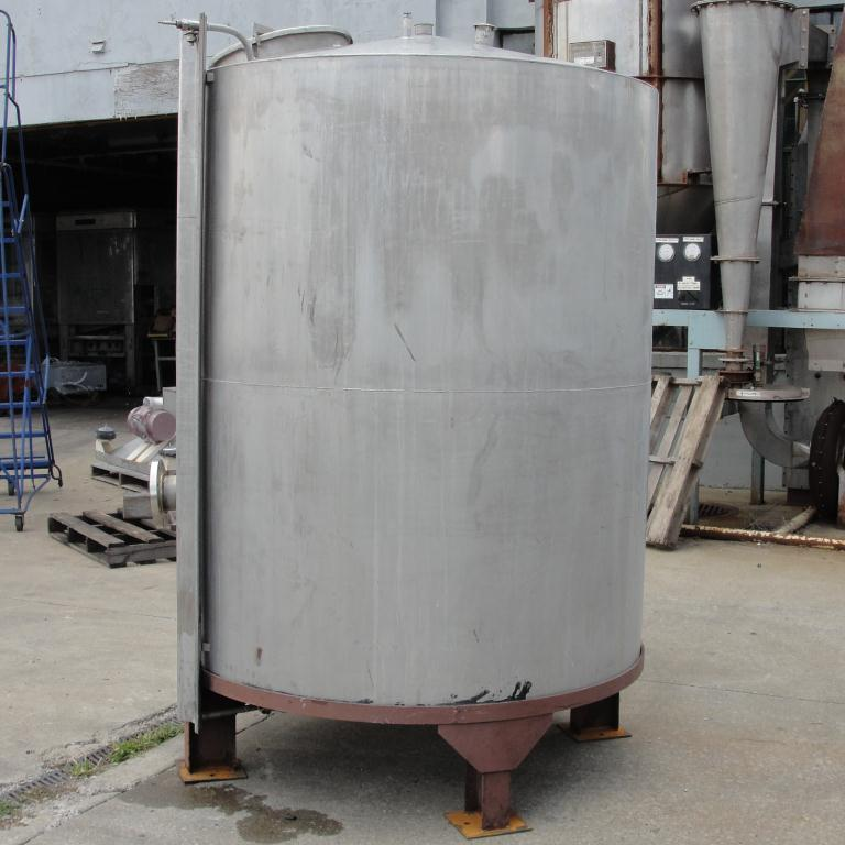 Tank 900 gallon vertical tank, Stainless Steel, conical7