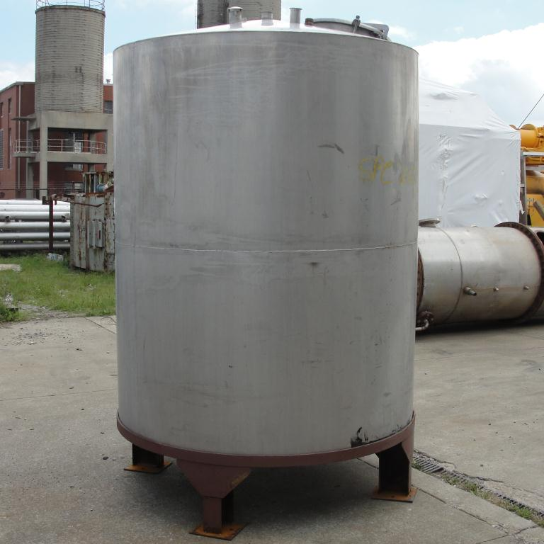 Tank 900 gallon vertical tank, Stainless Steel, conical8