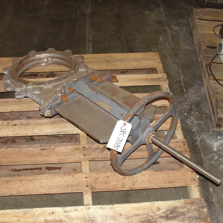 Valve 12 Fabri-Valve gate valve, hand wheel, Stainless Steel3