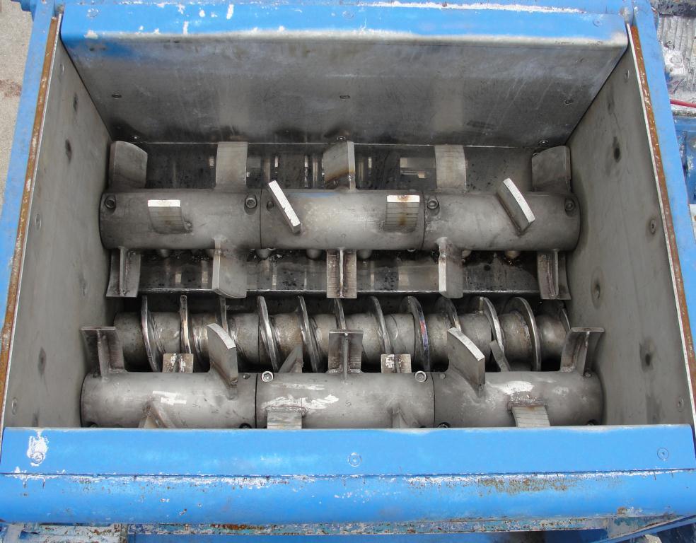 Extruder 16 diameter extruder kneader 7.5 hp drive3