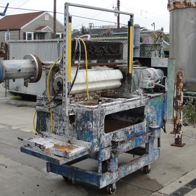 Extruder 16 diameter extruder kneader 7.5 hp drive11