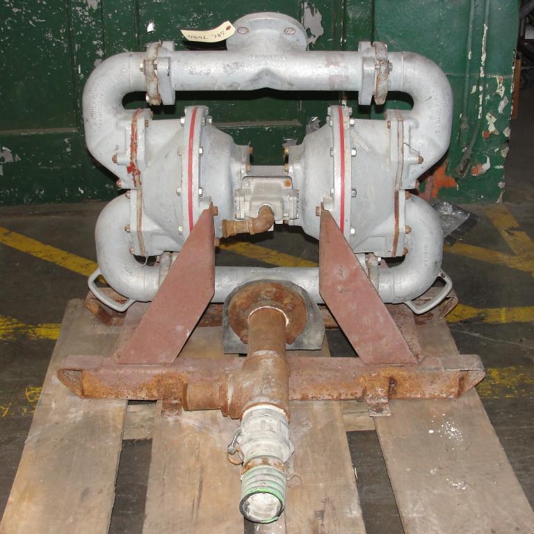 Pump 3 SandPiper diaphragm pump, Aluminum1
