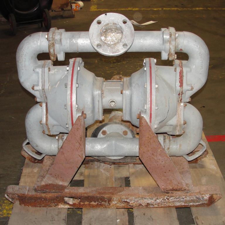 Pump 3 SandPiper diaphragm pump, Aluminum2
