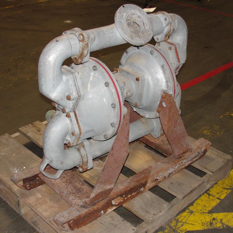 Pump 3 SandPiper diaphragm pump, Aluminum5