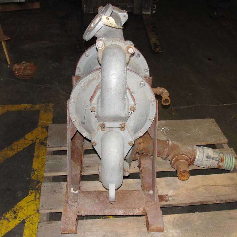 Pump 3 SandPiper diaphragm pump, Aluminum6